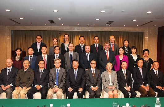 Group photo of Taiwan 2nd Track: The 12th Annual Conference on The Taiwan Issue in China-Europe Relation, September 20-22, 2015, in Shanghai