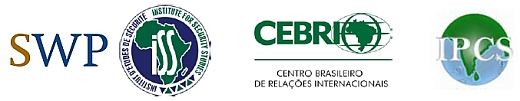 Logo of GIBSA Quadrilogue Partners: SWP, CEBRI, IPCS, ISS
